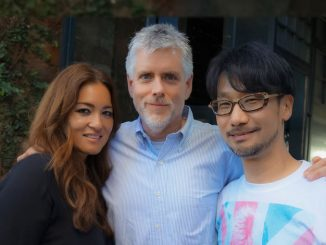 Kimberly, Kyle Cooper et Hideo Kojima - Le 24 mars 2016
