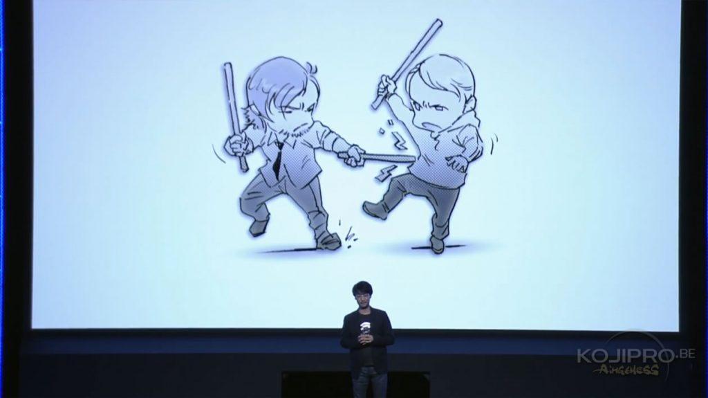 Hideo Kojima parle de Death Stranding à la conférence de Sony  au TGS, le 13/09/2016
