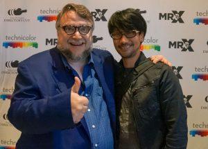 « Fête avec Guillermo del Toro et son équipe. » - Hideo Kojima, le 10 septembre 2016