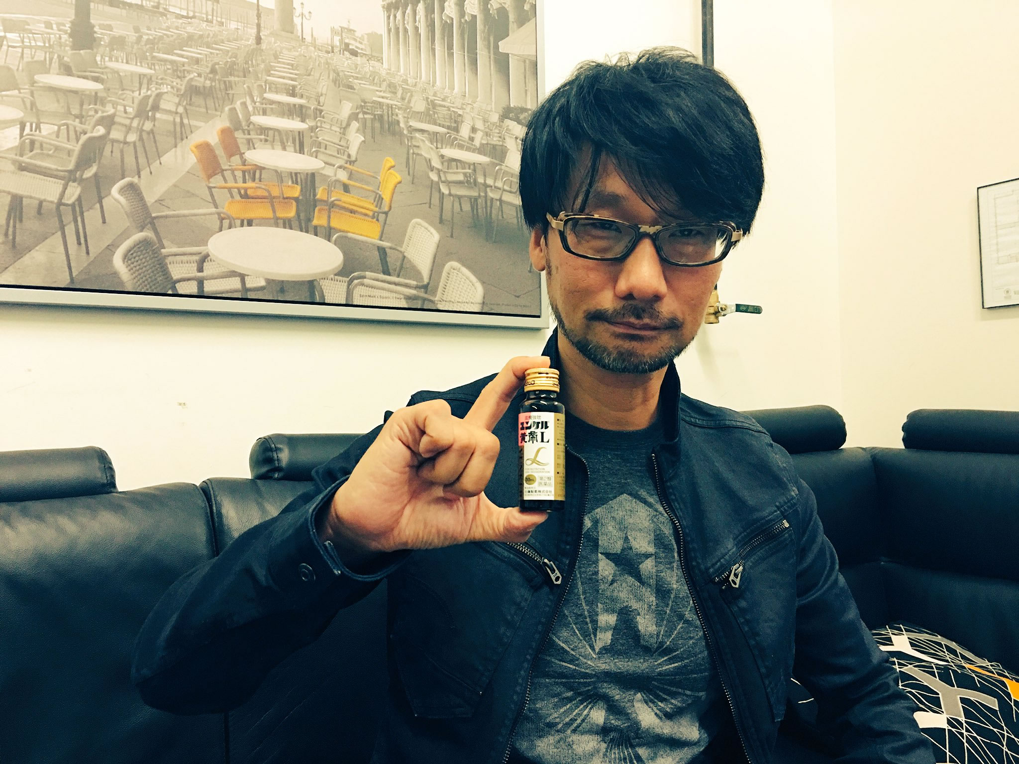 « Yunker time ! » – Hideo Kojima, le 10 septembre 2016