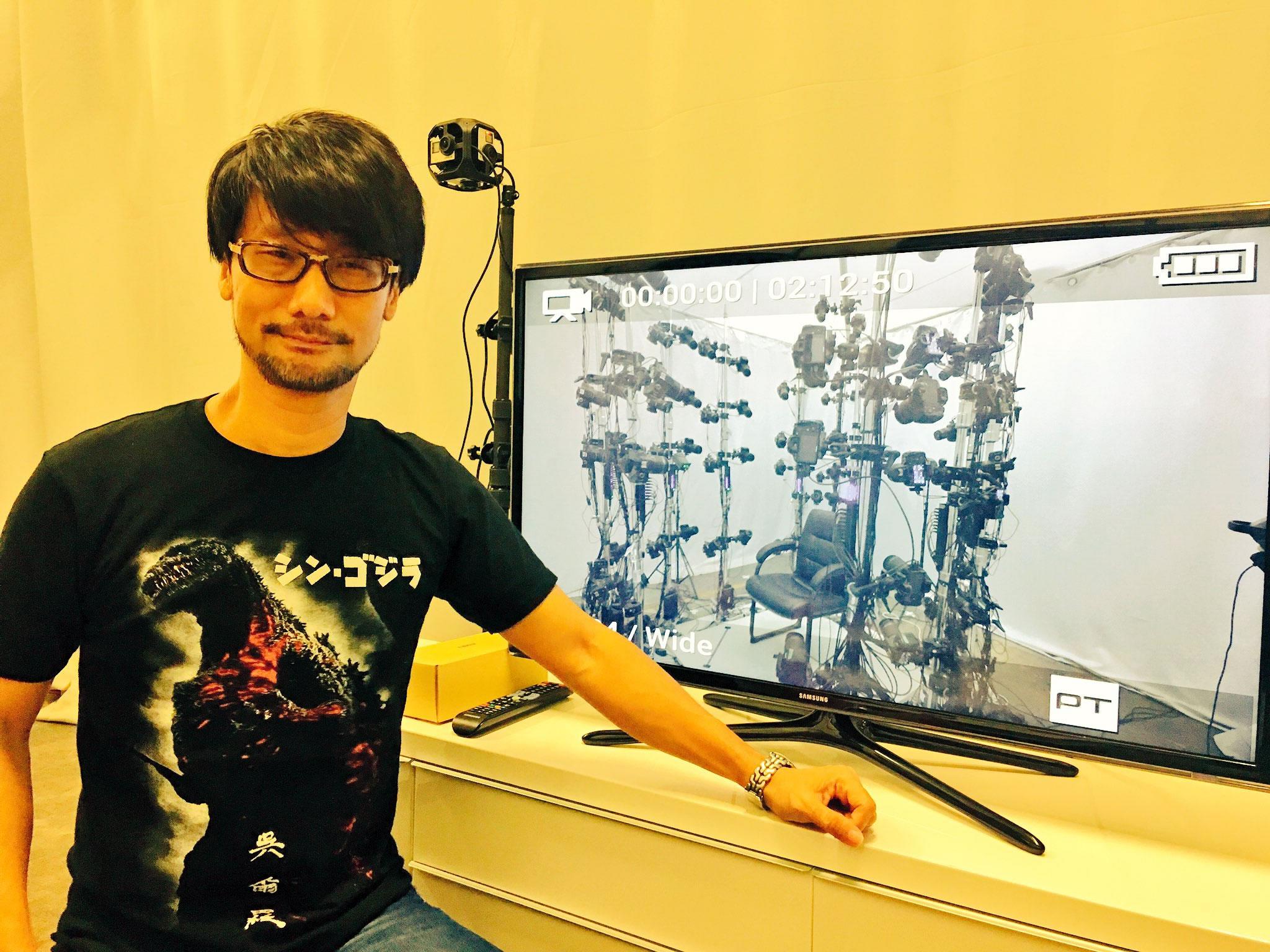 « Hideo Kojima, aujourd'hui. » – Ayako Terashima, le 11 septembre 2016