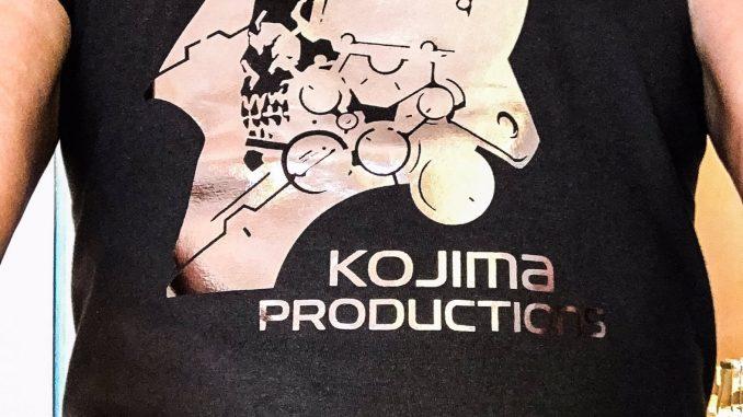 Hideo Kojima, le 18 septembre 2016