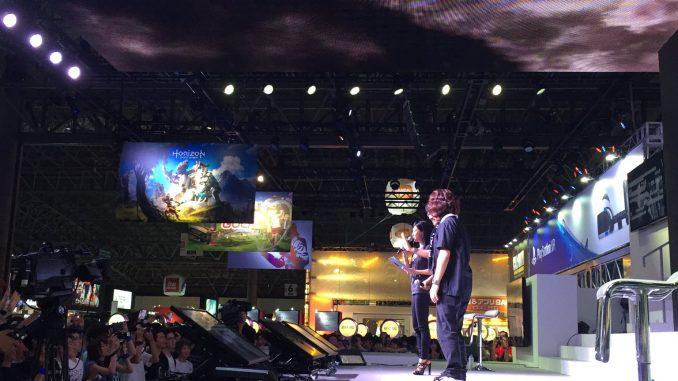 « En scène. » – Kojima Productions, le 18 septembre 2016
