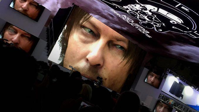 Kojima Productions au Tokyo Game Show, le 18 septembre 2016