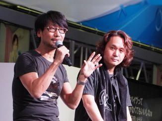 Hideo Kojima et Yoji Shinkawa au Tokyo Game Show, le 18 septembre 2016