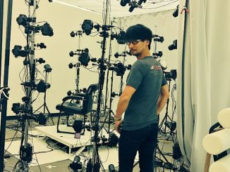 Hideo Kojima en studio 3D scaning