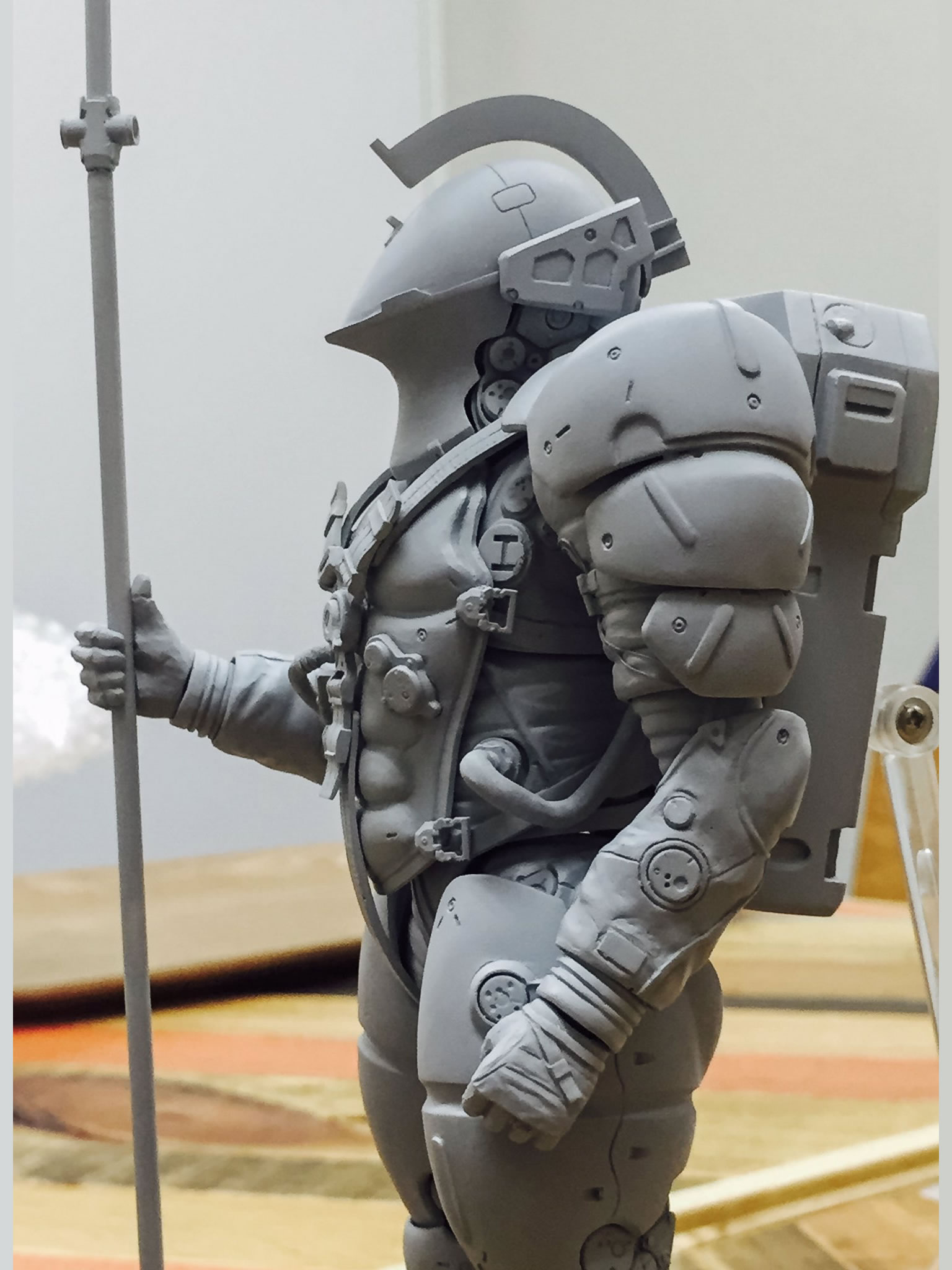 Figurine Figma de Ludens, la mascotte de Kojima Productions – 12 octobre 2016