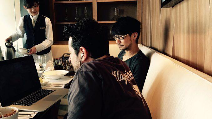 Hideo Kojima et J.J. Abrams, le 21 octobre 2016