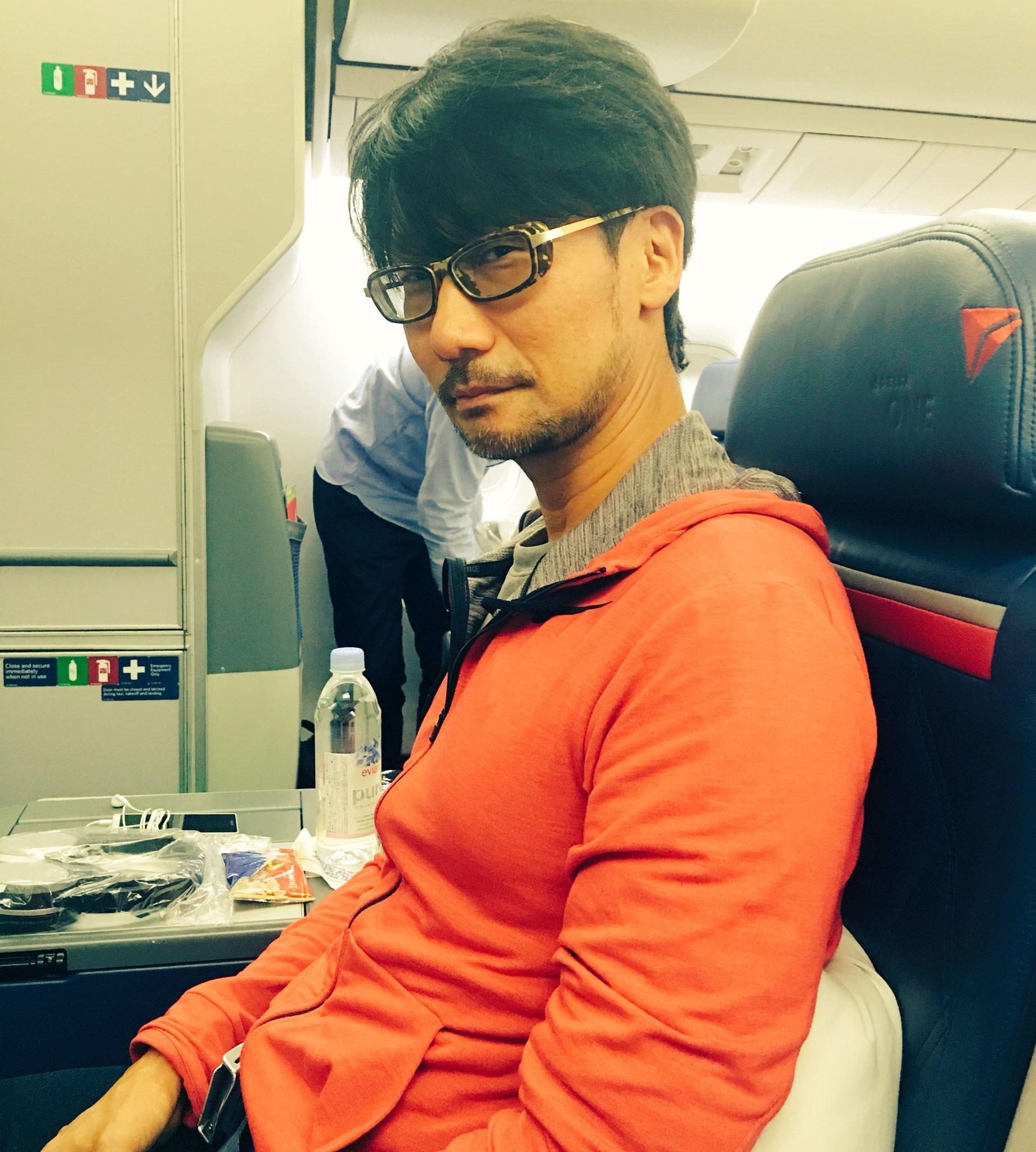 « Hideo Kojima, aujourd'hui. » – Ayako Terashima, le 17 octobre 2016