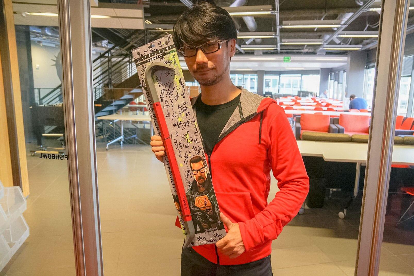 « Ils [Valve] nous ont offert ces cadeaux. Merci ! » – Hideo Kojima, le 18 octobre 2016