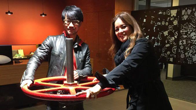 Hideo Kojima et Kimberly Cooper chez Valve