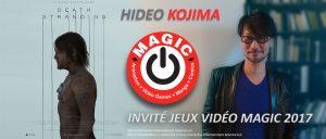 Hideo Kojima donnera une conférence au MAGIC à Monaco