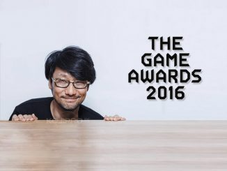 Hideo Kojima - The Game Awards 2016