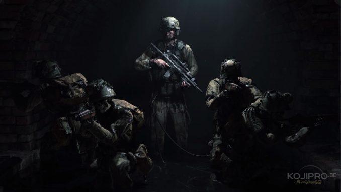 Les soldats sont des squelettes ambulants.