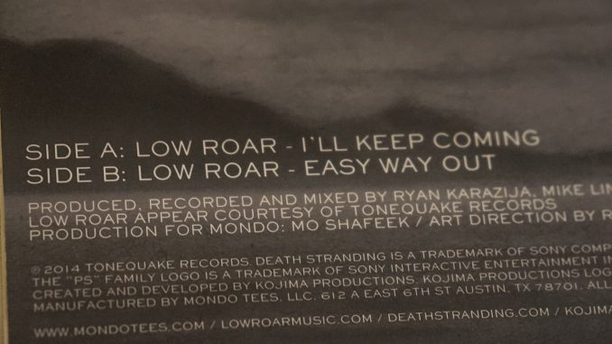 Le vinyle de Death Stranding / Low Roar