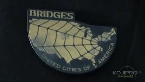 Le badge de Guillermo del Toro : Bridges «United Cities of America »