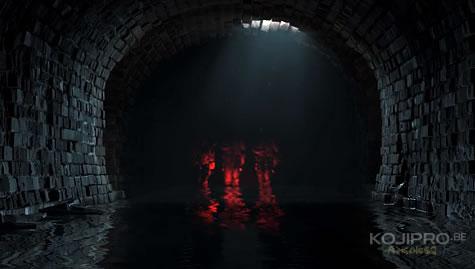 Leur apparition rappelle l'esthétique du film « The Neon Demon »