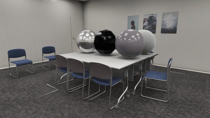 Modèles 3D du teaser #2 de Death Stranding avec le moteur Decima dans la Glass Room