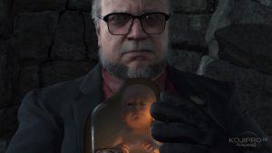 Guillermo del Toro dans Death Stranding - Kojima Productions