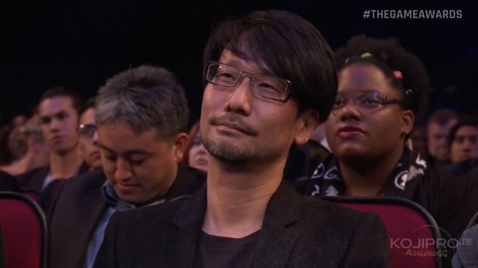 Hideo Kojima aux Game Awards 2016 (1er décembre 2016)