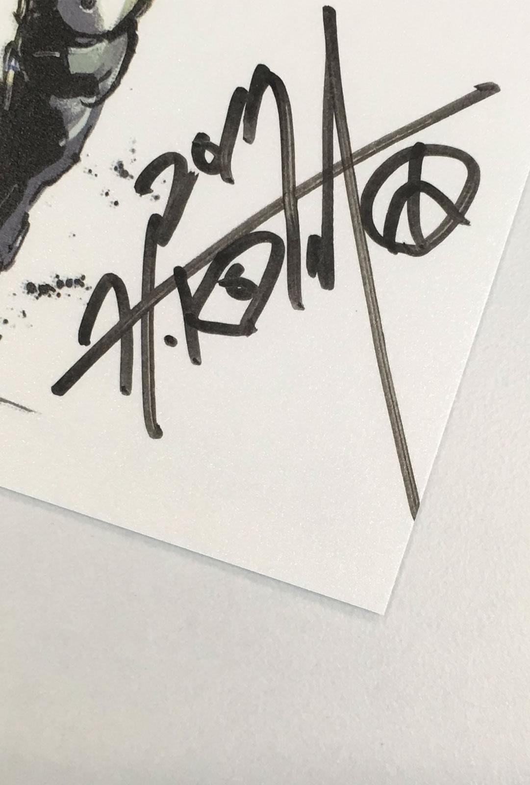 Les bons vœux de Kojima Productions avec un nouvel artwork inédit de Yoji Shinkawa