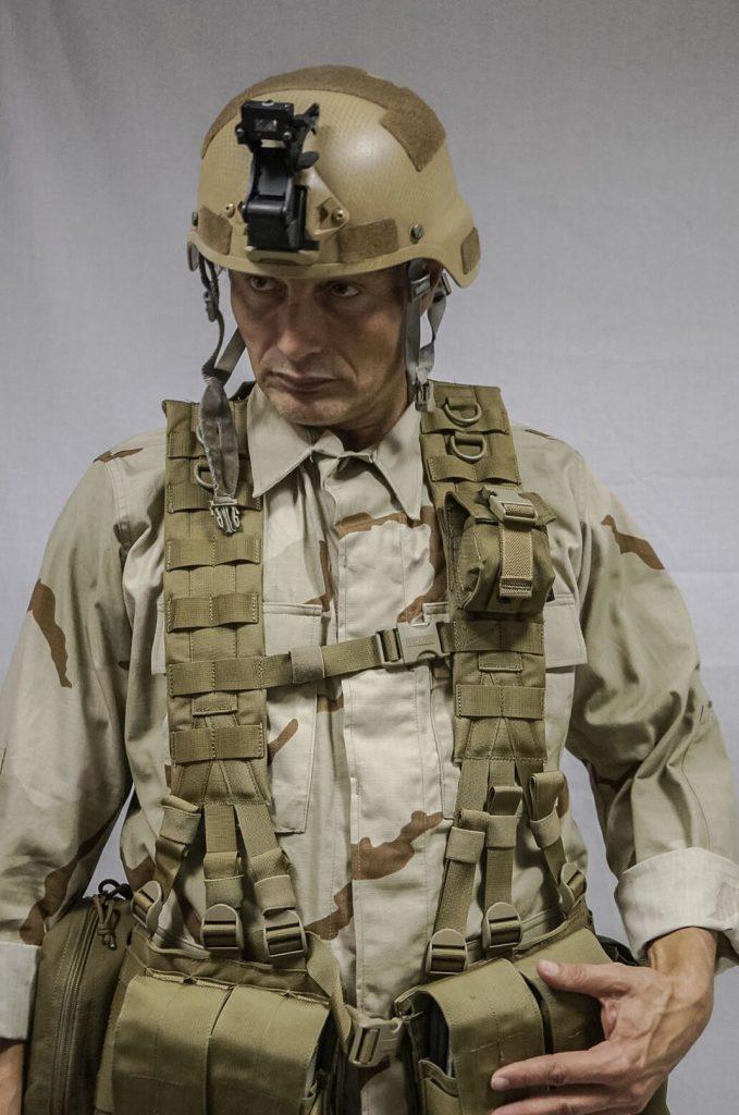 Mads Mikkelsen en studio 3D scanning pour Death Stranding
