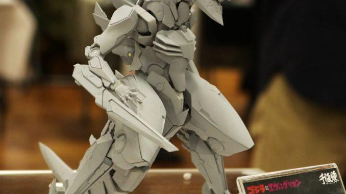 Figurine de Godzilla X Evangelion dessinée par Yoji Shinkawa au Miyazawa Model Exhibition Autumn (1 décembre 2016)