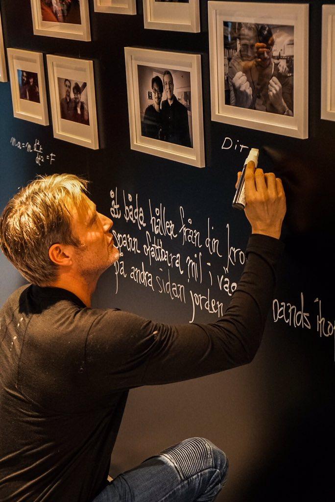 Mads Mikkelsen en visite chez Kojima Productions, le 25 janvier 2017