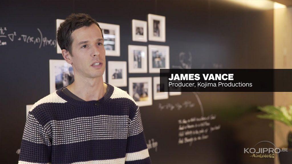 James Vance - Les bureaux de Kojima Productions dévoilés en vidéo