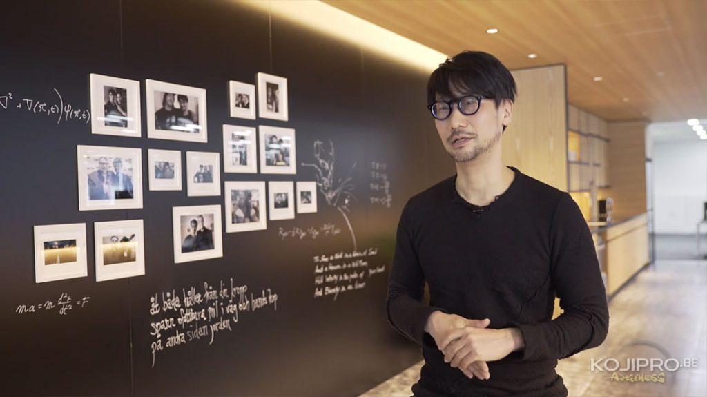 Hideo Kojima - Les bureaux de Kojima Productions dévoilés en vidéo