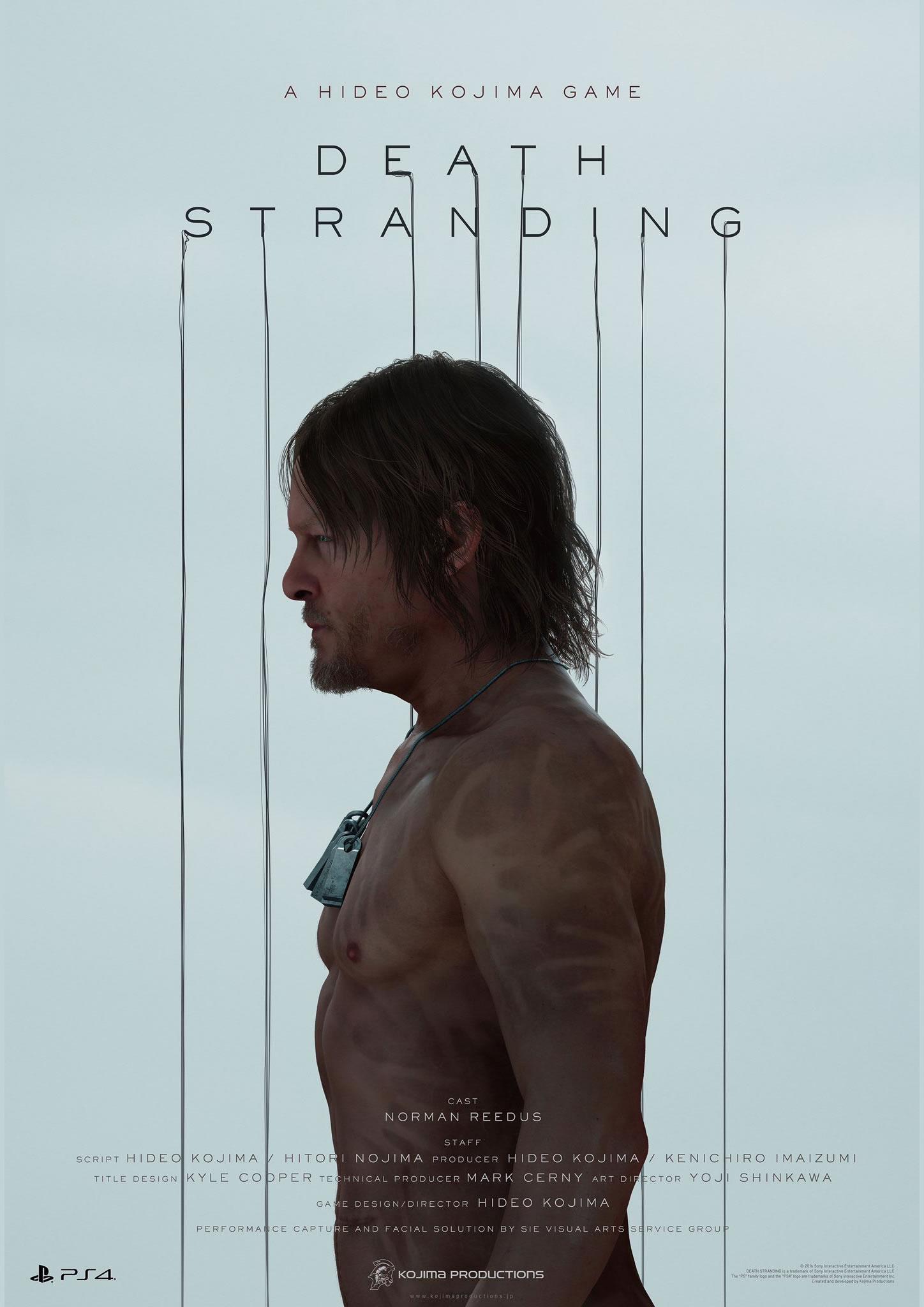 Affiche de Death Stranding (Norman Reedus) – E3 2016