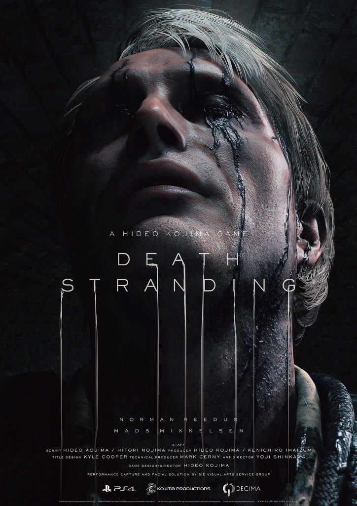 Affiche de Death Stranding (Mads Mikkelsen) - The Game Awards 2016