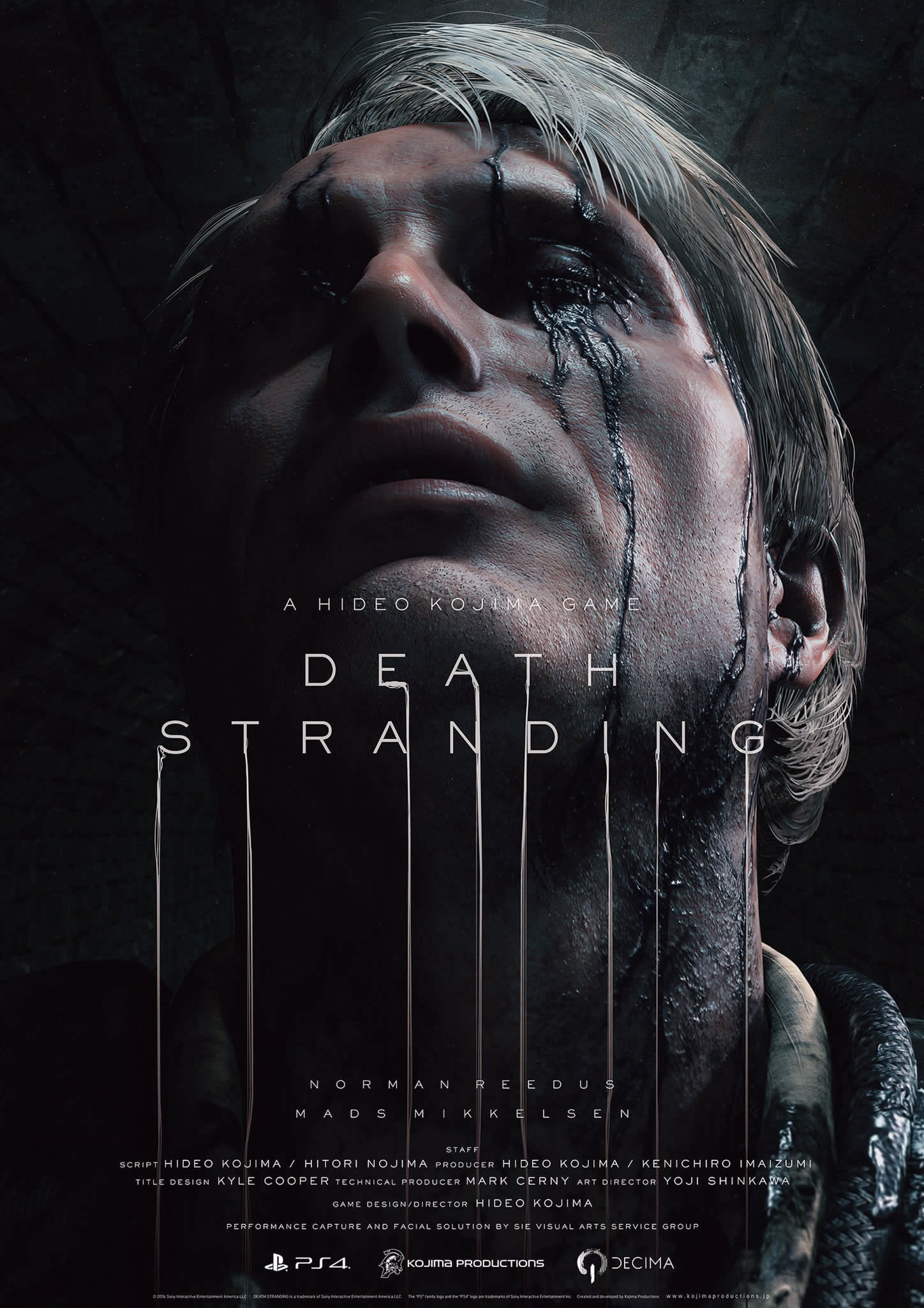 Affiche de Death Stranding (Mads Mikkelsen) – The Game Awards 2016