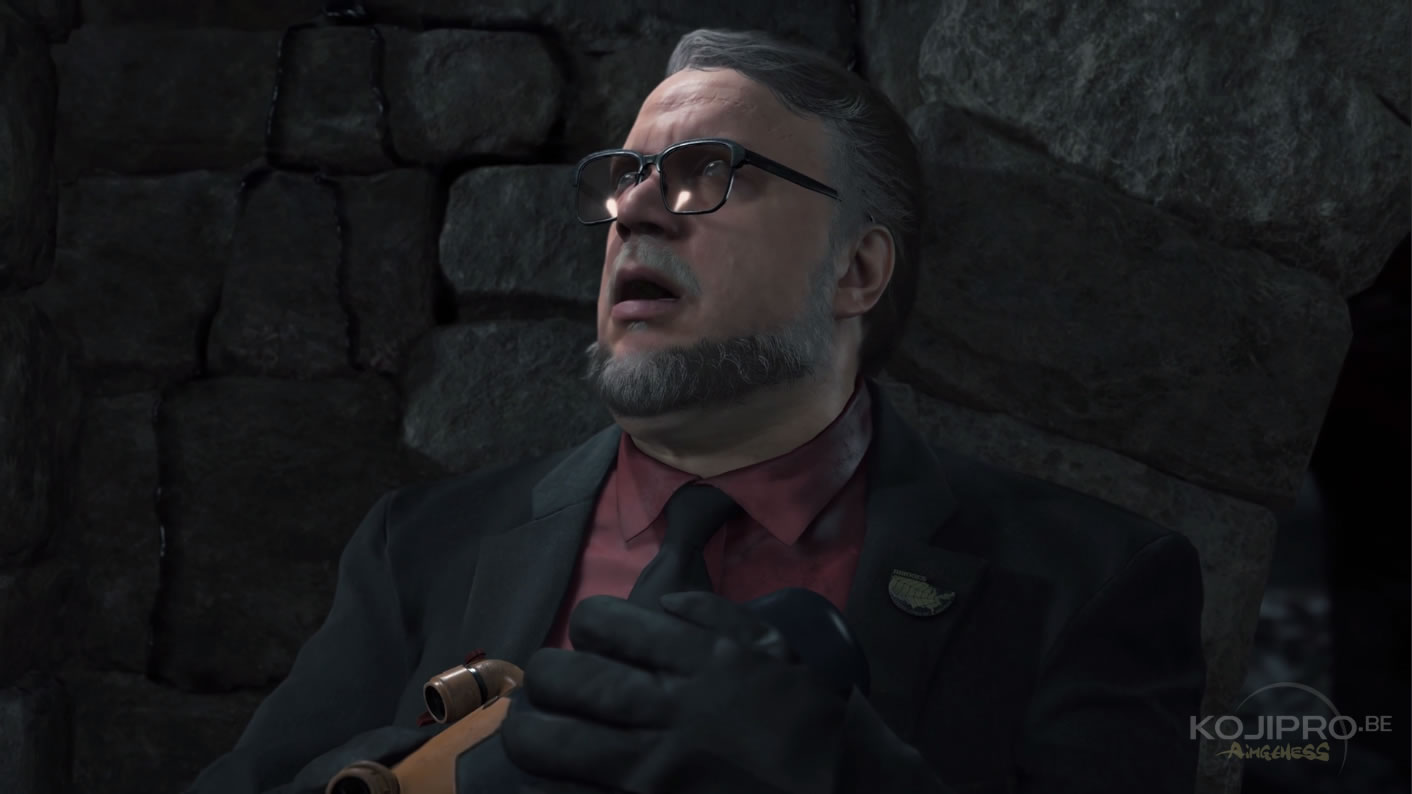Guillermo del Toro dans Death Stranding – Trailer The Game Awards 2016