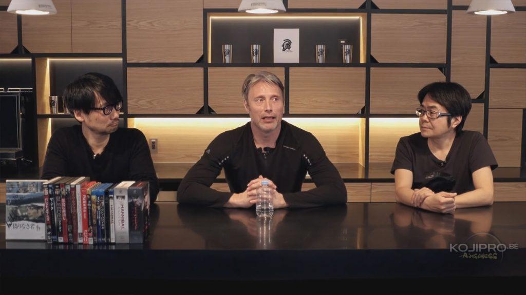 Hideo Kojima, Mads Mikkelsen et Kenji Yano - HideoTube #6
