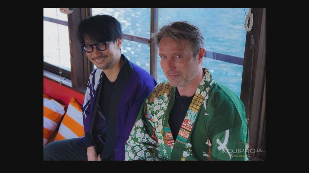 Hideo Kojima et Mads Mikkelsen, le 25 janvier 2017