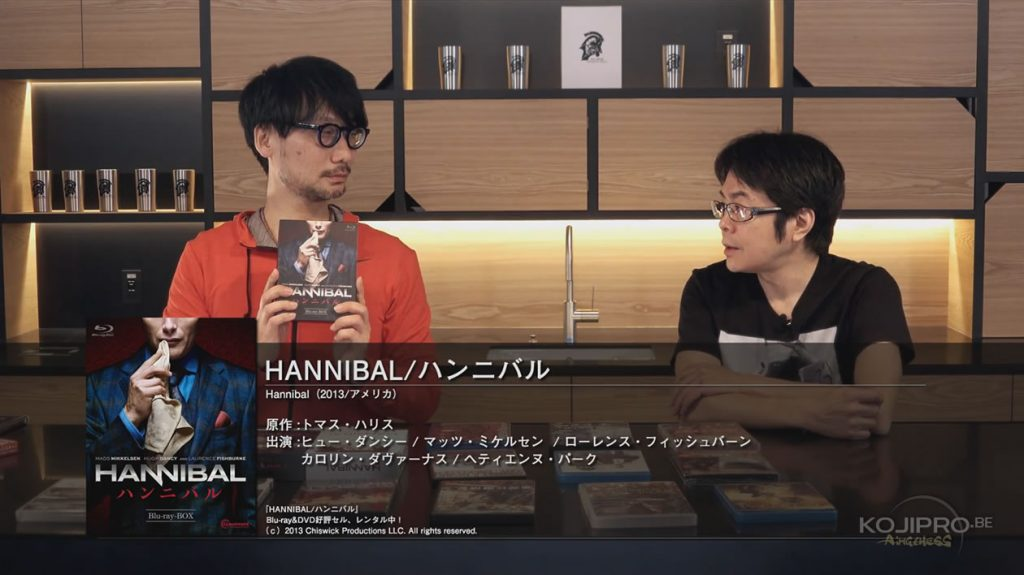 Hideo Kojima et Kenji Yano - HideoTube #6 | « Hannibal » (2013 - en cours)
