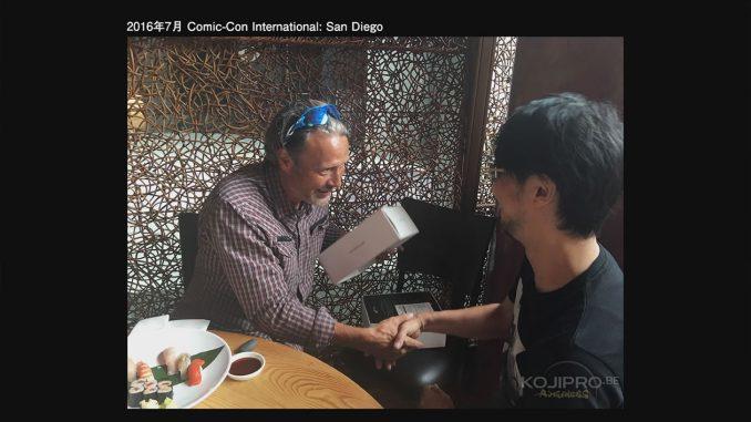 Mads Mikkelsen et Hideo Kojima au Comic-Con de San Diego - Juillet 2016
