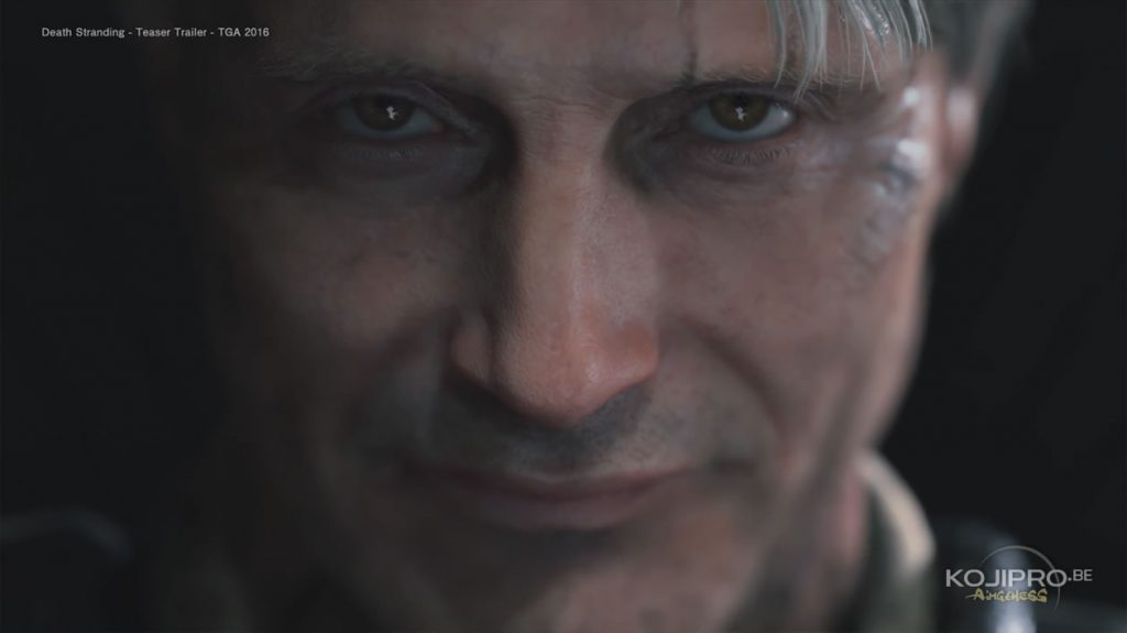 Mads Mikkelsen dans Death Stranding – Trailer The Game Awards 2016
