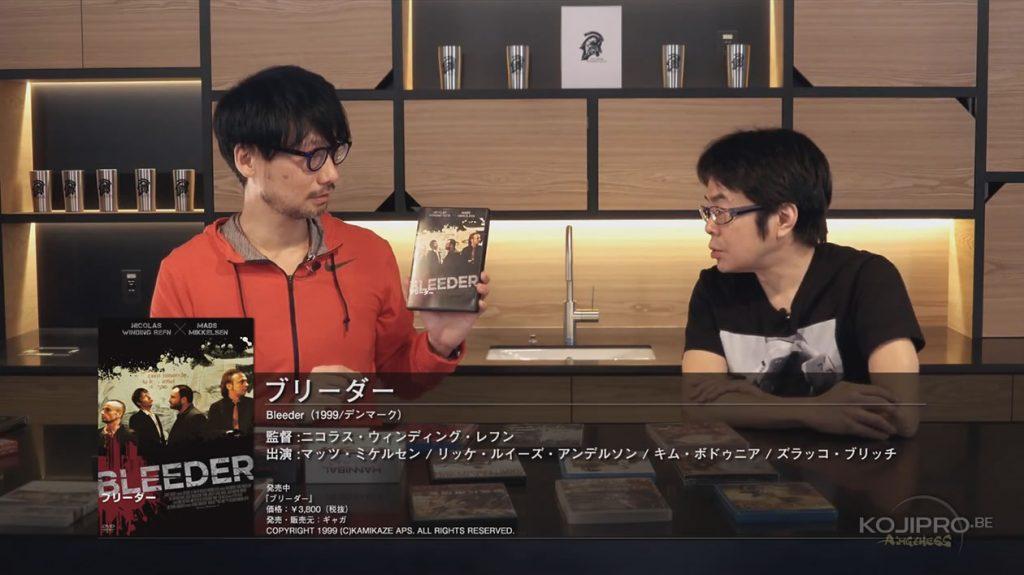 Hideo Kojima et Kenji Yano - HideoTube #6 | « Bleeder » (1999)