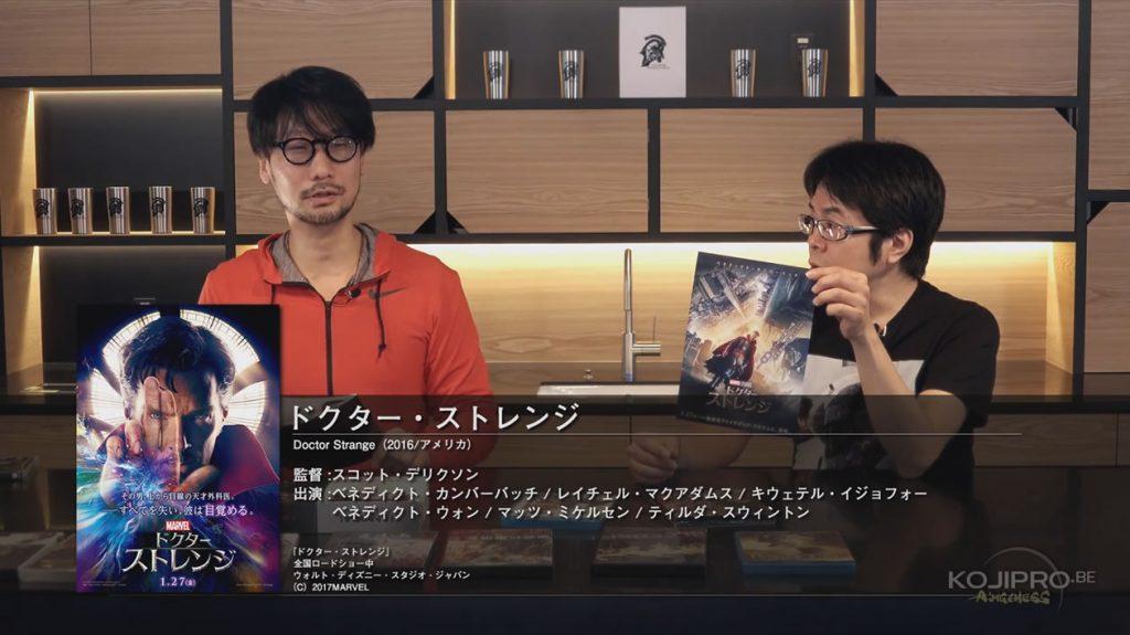 Hideo Kojima et Kenji Yano - HideoTube #6 | « Doctor Strange » (2016)