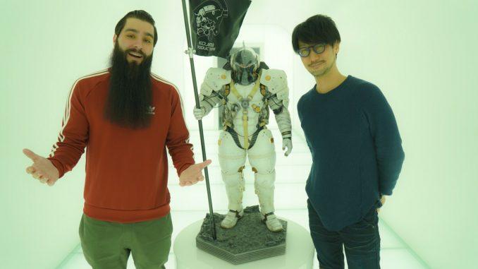 Jordan Vogt-Roberts, Ludens et Hideo Kojima chez KojiPro, le 10 février 2017