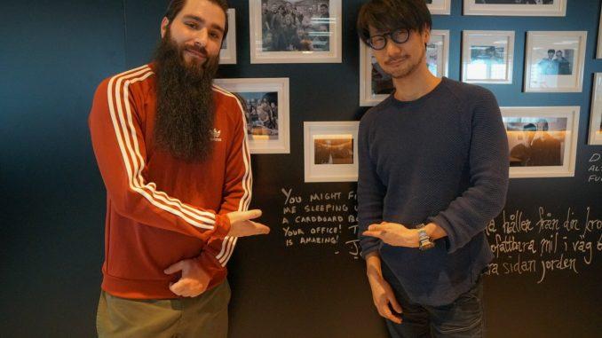 Jordan Vogt-Roberts et Hideo Kojima chez KojiPro, le 10 février 2017