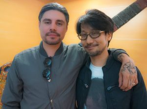 Ryan Karazija et Hideo Kojima, le 17 juin 2016