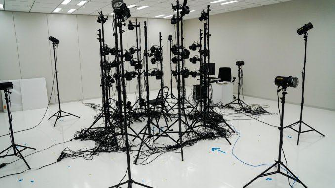 Séance de scanning 3D chez Kojima Productions, le 23 février 2017