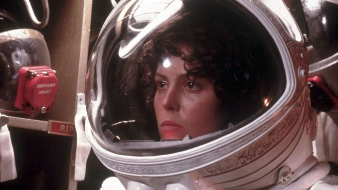 Sigourney Weaver dans Alien (Ridley Scott - 1979)