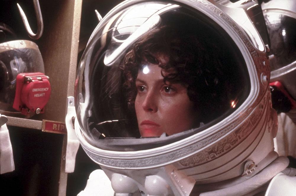 Sigourney Weaver dans Alien (Ridley Scott – 1979)