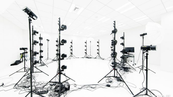 Le studio 3D scanning de Kojima Productions