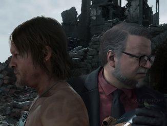 Norman Reedus et Guillermo del Toro dans Death Stranding