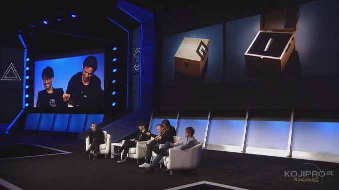 Hideo Kojima dévoile Decima, la collaboration entre Kojima Productions et Guerrilla Games - PlayStation Experience, le 3 décembre 2016